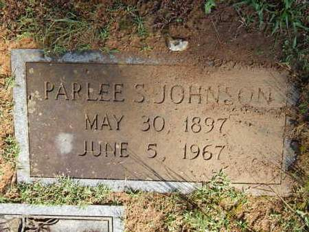 JOHNSON, PARLEE S - Knox County, Tennessee | PARLEE S JOHNSON - Tennessee Gravestone Photos