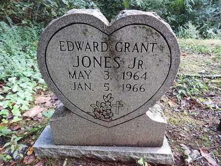 JONES, EDWARD GRANT JR - Knox County, Tennessee | EDWARD GRANT JR JONES - Tennessee Gravestone Photos