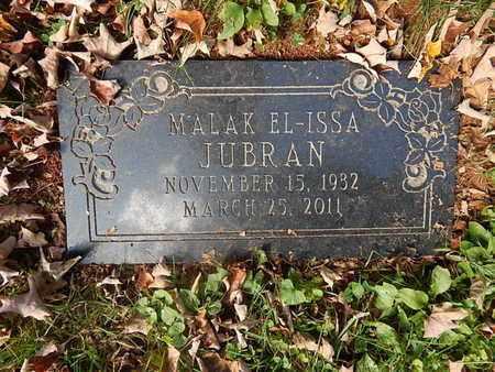 JUBRAN, MALAK EL-ISSA - Knox County, Tennessee | MALAK EL-ISSA JUBRAN - Tennessee Gravestone Photos