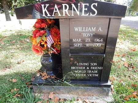 """KARNES, WILLIAM A """"TONY"""" - Knox County, Tennessee 