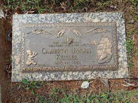 KEISLER, CAMBRYN JANELL - Knox County, Tennessee | CAMBRYN JANELL KEISLER - Tennessee Gravestone Photos
