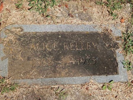 KELLEY, ALICE - Knox County, Tennessee | ALICE KELLEY - Tennessee Gravestone Photos