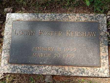 KERSHAW, LOGAN FOSTER - Knox County, Tennessee | LOGAN FOSTER KERSHAW - Tennessee Gravestone Photos