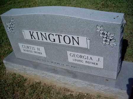KINGTON, FAMILY MARKER - Knox County, Tennessee | FAMILY MARKER KINGTON - Tennessee Gravestone Photos