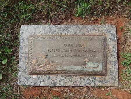 KINZALOW, F GERRAND II - Knox County, Tennessee | F GERRAND II KINZALOW - Tennessee Gravestone Photos