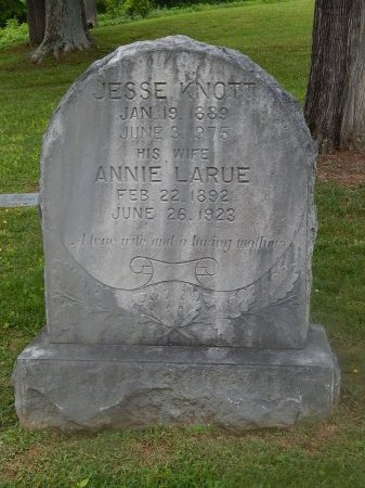 KNOTT, ANNIE - Knox County, Tennessee   ANNIE KNOTT - Tennessee Gravestone Photos