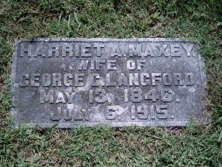 MAXEY LANGFORD, HARRIET A - Knox County, Tennessee | HARRIET A MAXEY LANGFORD - Tennessee Gravestone Photos