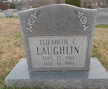 LAUGHLIN, ELIZABETH C - Knox County, Tennessee | ELIZABETH C LAUGHLIN - Tennessee Gravestone Photos