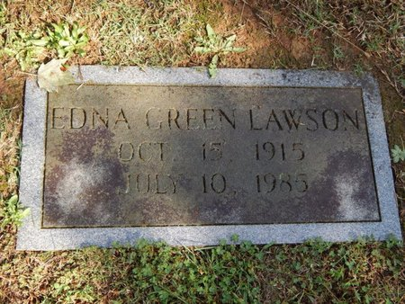 LAWSON, EDNA - Knox County, Tennessee | EDNA LAWSON - Tennessee Gravestone Photos