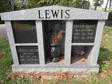 LEWIS, HELEN DIANE - Knox County, Tennessee | HELEN DIANE LEWIS - Tennessee Gravestone Photos