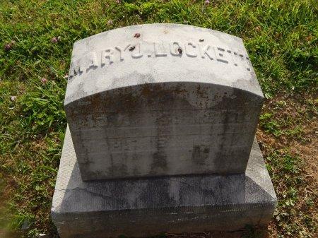 LOCKETT, MARY J - Knox County, Tennessee | MARY J LOCKETT - Tennessee Gravestone Photos