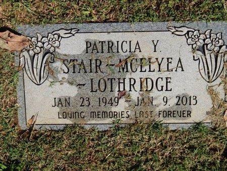 STAIR LOTHRIDGE, PATRICIA Y - Knox County, Tennessee | PATRICIA Y STAIR LOTHRIDGE - Tennessee Gravestone Photos