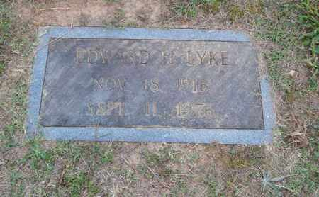 LYKE, EDWARD - Knox County, Tennessee | EDWARD LYKE - Tennessee Gravestone Photos
