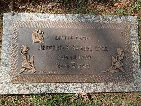 LYKE, JEFFERSON SAMUEL - Knox County, Tennessee | JEFFERSON SAMUEL LYKE - Tennessee Gravestone Photos
