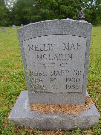 MCLARIN MAPP, NELLIE MAE - Knox County, Tennessee   NELLIE MAE MCLARIN MAPP - Tennessee Gravestone Photos