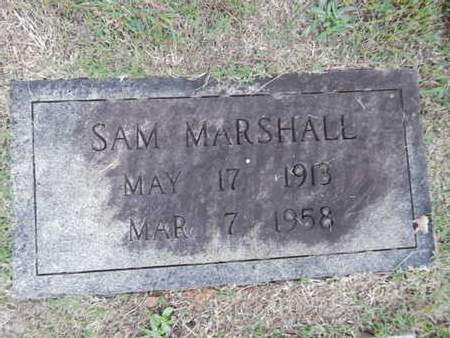 MARSHALL, SAM - Knox County, Tennessee | SAM MARSHALL - Tennessee Gravestone Photos