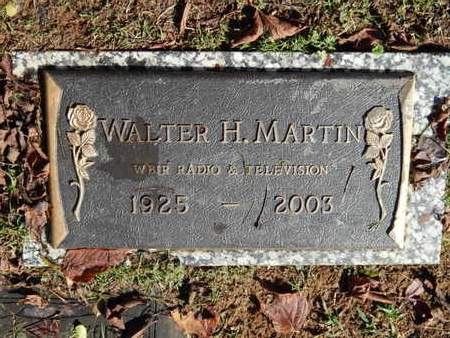 MARTIN, WALTER H - Knox County, Tennessee | WALTER H MARTIN - Tennessee Gravestone Photos