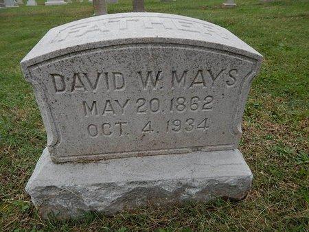 MAYS, DAVID W - Knox County, Tennessee   DAVID W MAYS - Tennessee Gravestone Photos