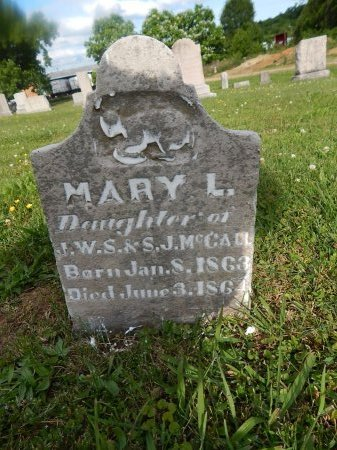 MCCALL, MARY L - Knox County, Tennessee | MARY L MCCALL - Tennessee Gravestone Photos