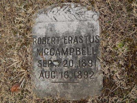 MCCAMPBELL, ROBERT ERASTUS - Knox County, Tennessee | ROBERT ERASTUS MCCAMPBELL - Tennessee Gravestone Photos