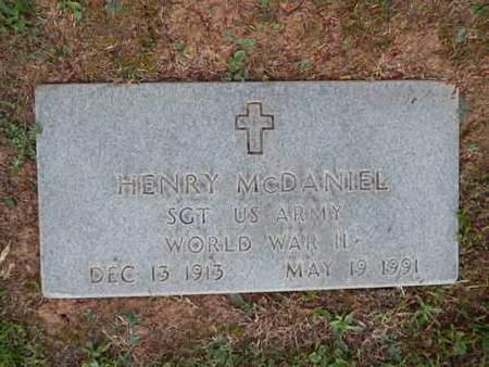 MCDANIEL  (VETERAN WWII), HENRY - Knox County, Tennessee | HENRY MCDANIEL  (VETERAN WWII) - Tennessee Gravestone Photos
