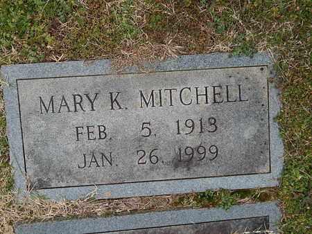 MITCHELL, MARY K (SECOND STONE) - Knox County, Tennessee   MARY K (SECOND STONE) MITCHELL - Tennessee Gravestone Photos