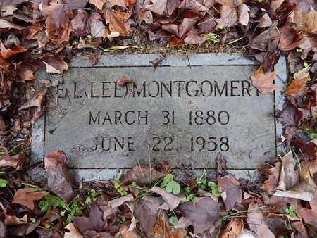 MONTGOMERY, ELIJAH L (LEE) - Knox County, Tennessee | ELIJAH L (LEE) MONTGOMERY - Tennessee Gravestone Photos