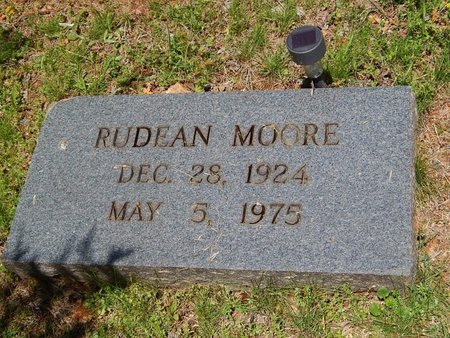 MOORE, RUDEAN - Knox County, Tennessee | RUDEAN MOORE - Tennessee Gravestone Photos