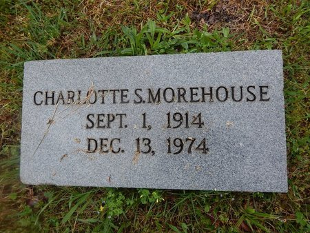 MOREHOUSE, CHARLOTTE S - Knox County, Tennessee | CHARLOTTE S MOREHOUSE - Tennessee Gravestone Photos
