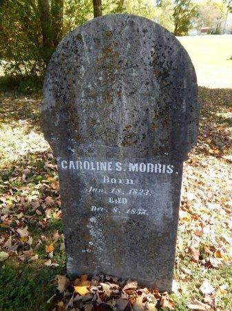 MORRIS, CAROLINE S - Knox County, Tennessee   CAROLINE S MORRIS - Tennessee Gravestone Photos