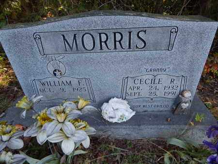 MORRIS, CECILE R - Knox County, Tennessee | CECILE R MORRIS - Tennessee Gravestone Photos