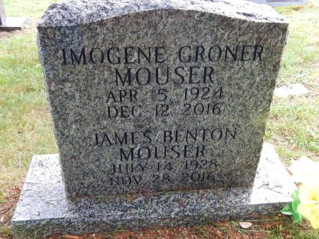 MOUSER, IMOGENE - Knox County, Tennessee | IMOGENE MOUSER - Tennessee Gravestone Photos