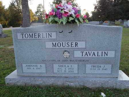 MOUSER, SHEILA I - Knox County, Tennessee | SHEILA I MOUSER - Tennessee Gravestone Photos