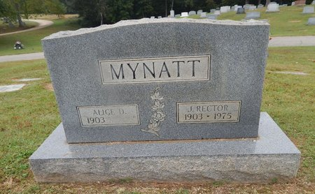 MYNATT, ALICE D - Knox County, Tennessee | ALICE D MYNATT - Tennessee Gravestone Photos