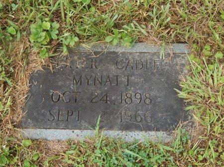 MYNATT, DEXTER CADLE - Knox County, Tennessee   DEXTER CADLE MYNATT - Tennessee Gravestone Photos
