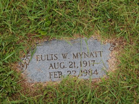MYNATT, EULIS W - Knox County, Tennessee | EULIS W MYNATT - Tennessee Gravestone Photos