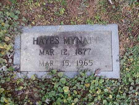 MYNATT, HAYES - Knox County, Tennessee | HAYES MYNATT - Tennessee Gravestone Photos
