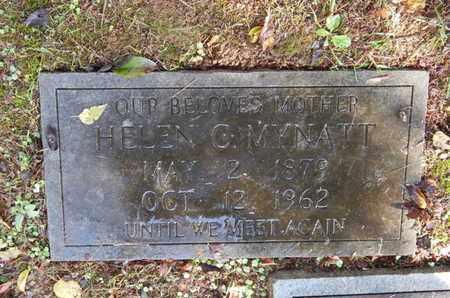 MYNATT, HELEN C - Knox County, Tennessee | HELEN C MYNATT - Tennessee Gravestone Photos