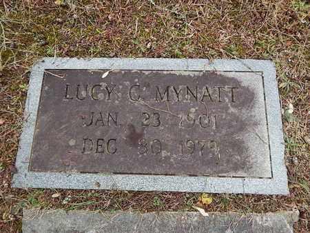 MYNATT, LUCY C - Knox County, Tennessee   LUCY C MYNATT - Tennessee Gravestone Photos