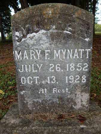 MYNATT, MARY F - Knox County, Tennessee   MARY F MYNATT - Tennessee Gravestone Photos