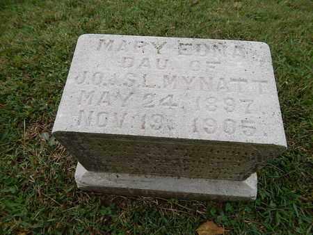 MYNATT, MARY EDNA - Knox County, Tennessee | MARY EDNA MYNATT - Tennessee Gravestone Photos
