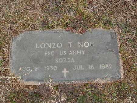 NOE  (VETERAN KOR), LONZO T - Knox County, Tennessee | LONZO T NOE  (VETERAN KOR) - Tennessee Gravestone Photos