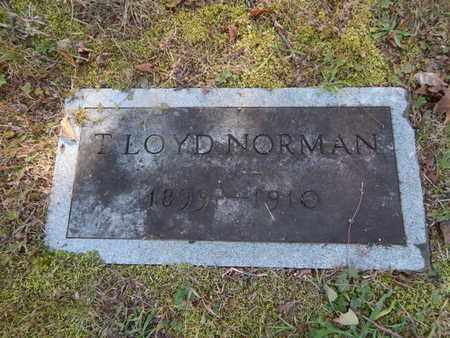 NORMAN, T LOYD - Knox County, Tennessee | T LOYD NORMAN - Tennessee Gravestone Photos
