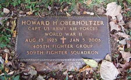 OBERHOLTZER  (VETERAN WWII), HOWARD H - Knox County, Tennessee | HOWARD H OBERHOLTZER  (VETERAN WWII) - Tennessee Gravestone Photos