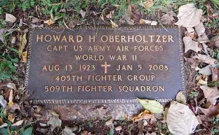 OBERHOLTZER  (VETERAN WWII), HOWARD H - Knox County, Tennessee | HOWARD H OBERHOLTZER  (VETERAN WWII) - Tennessee Gravestone Photos