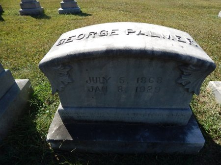 PALMER, GEORGE - Knox County, Tennessee | GEORGE PALMER - Tennessee Gravestone Photos