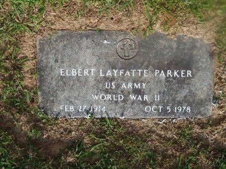PARKER (VETERAN WWII), ELBERT LAYFATTE   - Knox County, Tennessee | ELBERT LAYFATTE   PARKER (VETERAN WWII) - Tennessee Gravestone Photos