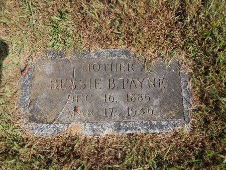 PAYNE, BESSIE B - Knox County, Tennessee   BESSIE B PAYNE - Tennessee Gravestone Photos