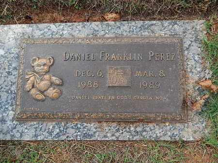 PEREZ, DANIEL FRANKLIN - Knox County, Tennessee | DANIEL FRANKLIN PEREZ - Tennessee Gravestone Photos