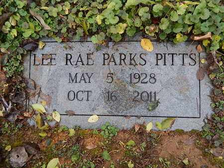 PITTS, LEE RAE - Knox County, Tennessee | LEE RAE PITTS - Tennessee Gravestone Photos